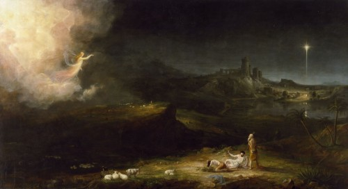 Thomas ColeThe Angel Appearing to the Shepherds, 1833–34