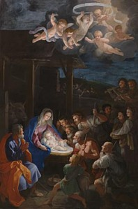 'The Adoration of the Shepherds' Guido Reni